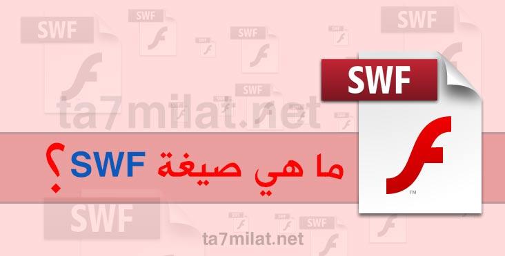 ما هي صيغة swf