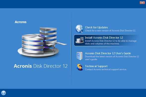 تحميل اكرونيس Acronis Disk Director 12.5