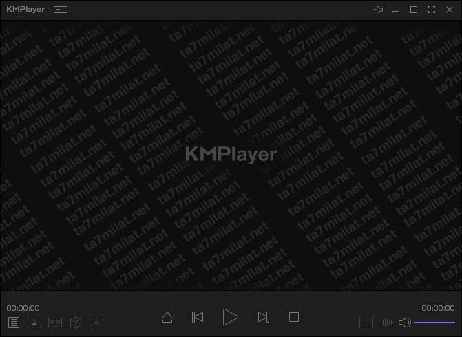 مشغل KMplayer جميع صيغ الفيديو 4k 8k