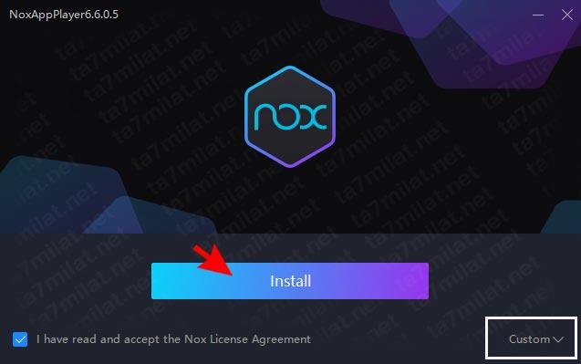 تثبيت برنامج Nox Player 2020 للكمبيوتر