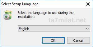 تحديد لغة برنامج تقسيم الهارد شرح تثبيت MiniTool Partition Wizard
