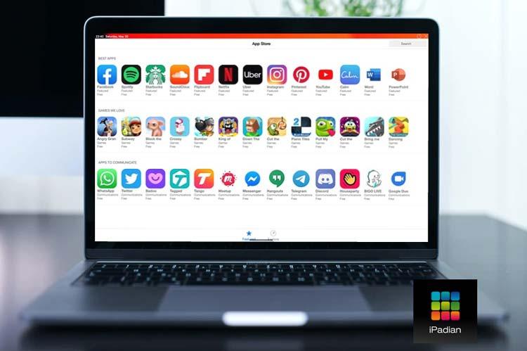 تحميل برنامج iPadian محاكي ايفون للكمبيوتر ios