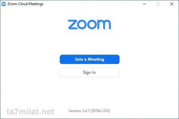 طريقة التسجيل في برنامج زووم للكمبيوتر